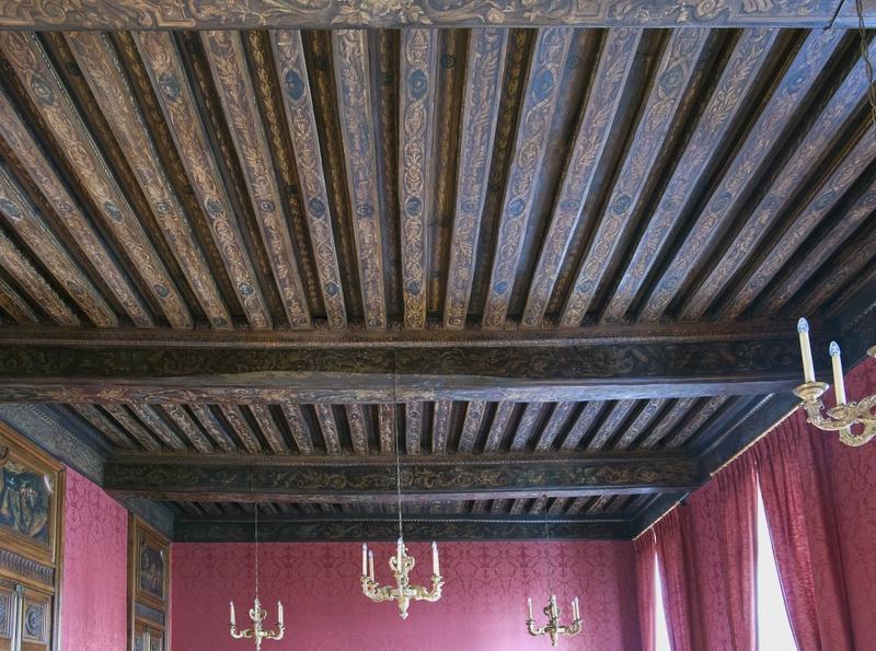 Vue général du plafond