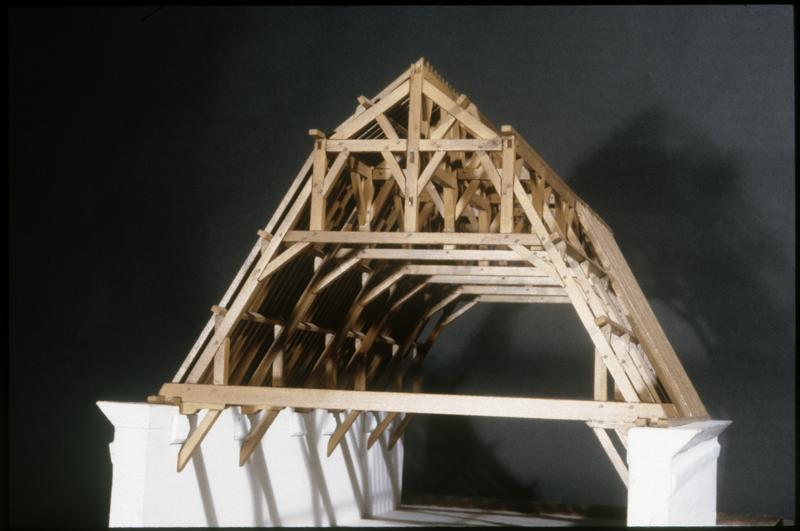 Maquette de charpente
