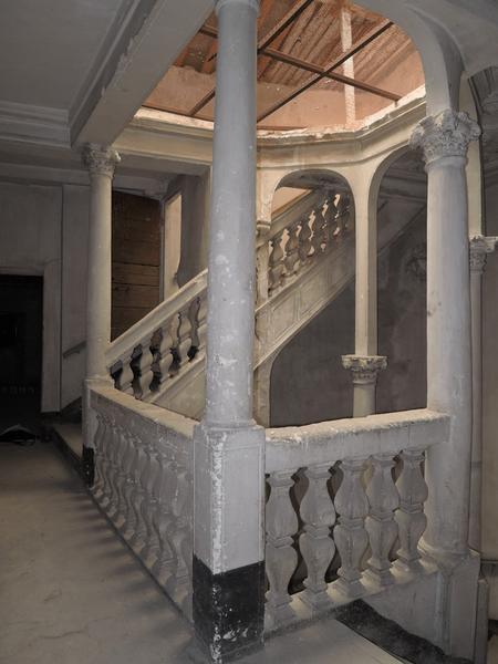 Palier du deuxième étage