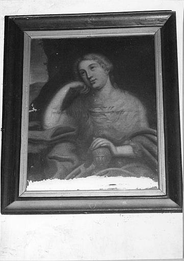 Tableau : 'Sainte Marie-Madeleine', huile sur toile