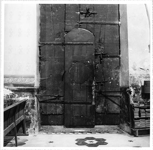 Vue de la porte sud (intérieur)