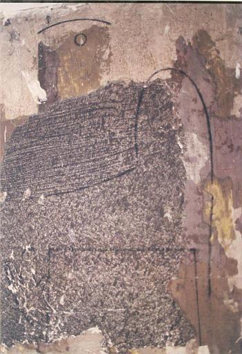 Peinture monumentale : peinture représentant un Loplop