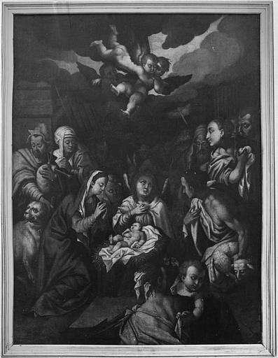 Tableau : 'L'Adoration des bergers' (anciennement appelé 'La Nativité')
