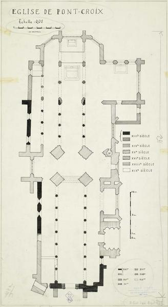 Plan archéologique