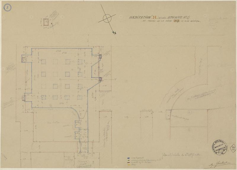 Plan et détails de l'habitation G