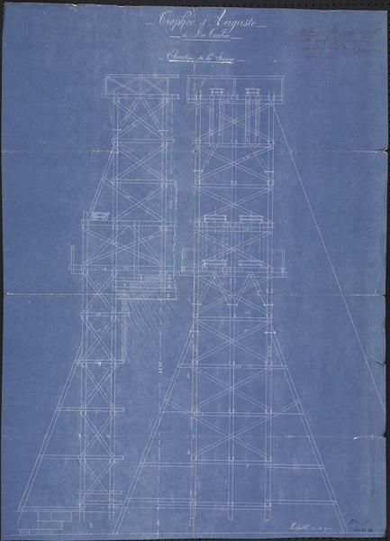 Projet de reconstruction : plan côté