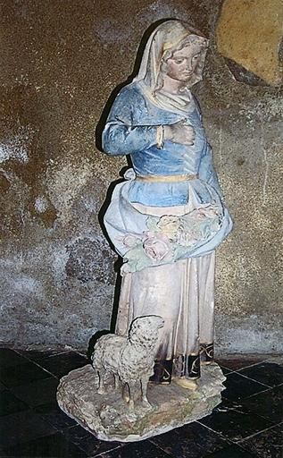 Statue : Sainte Germaine