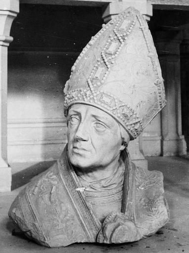 Buste : saint Rémy, pierre