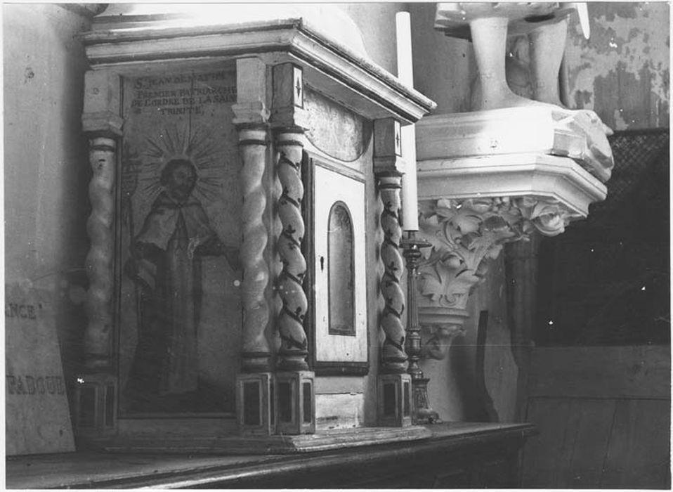Tabernacle dit des Trinitaires
