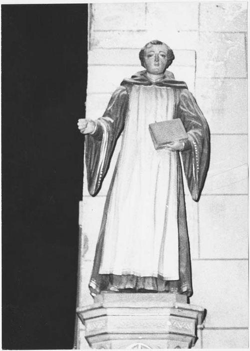 Statue : Saint Fiacre ou saint Méen