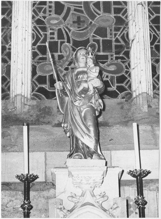 Statue: Vierge à l'Enfant