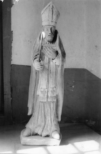 Statue style populaire : saint Eloi