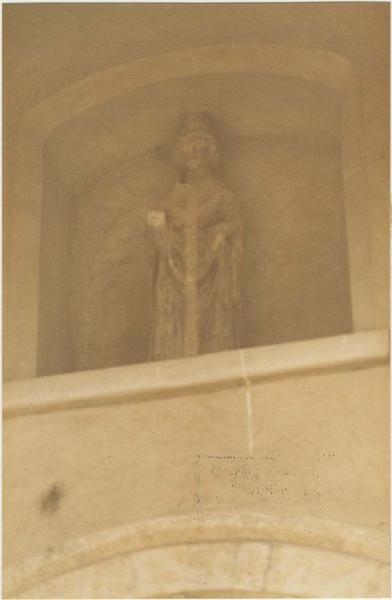 Statue : saint Eparche, vue générale