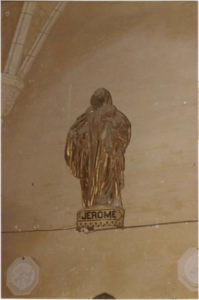 Statue : saint Jérome, vue générale