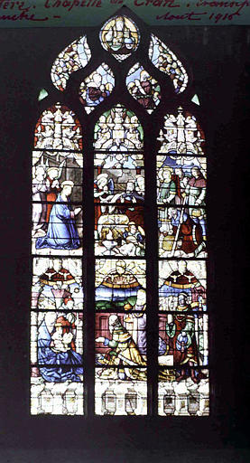 Vitrail du transept gauche