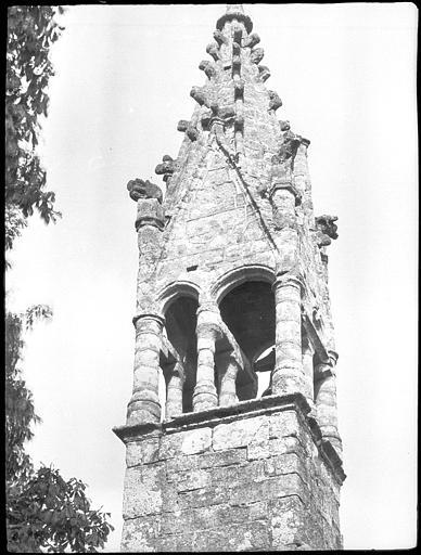 Partie supérieure du clocher