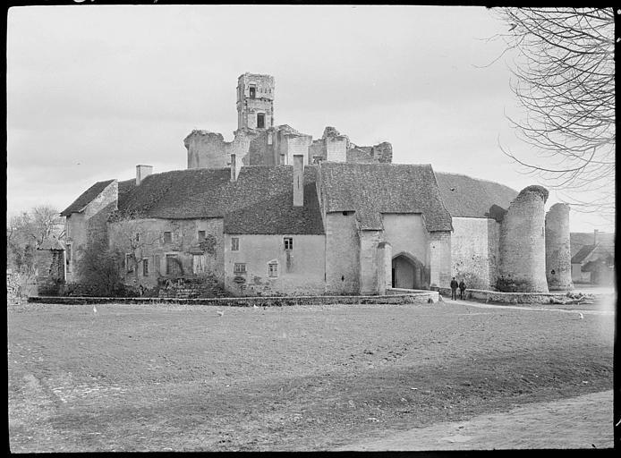 Vue d'ensemble du château-fort