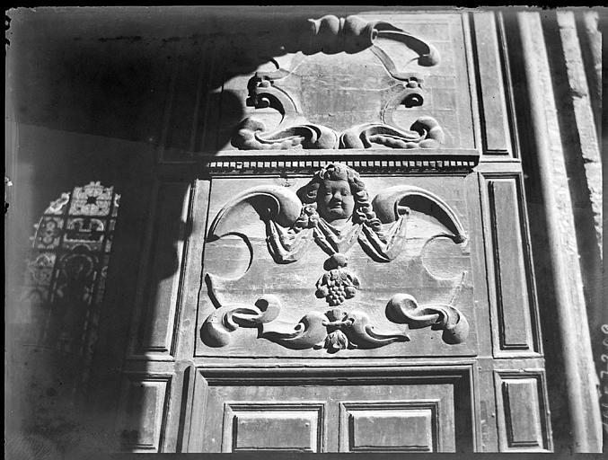 Portail ouest : détail d'un vantail