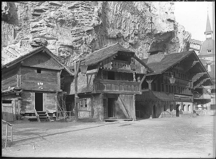 Pavillons en bois
