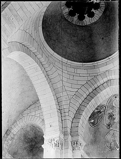 Intérieur : voûtes, peinture murale