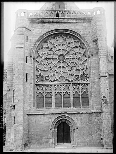 Transept sud : rose