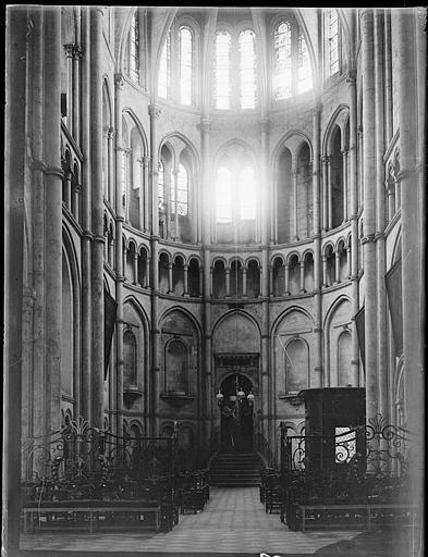 Intérieur : le transept de gauche