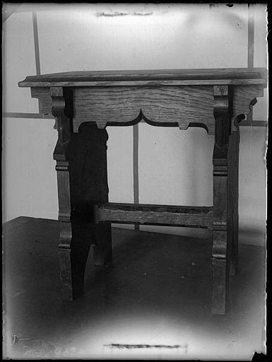 Intérieur : manteau de cheminée
