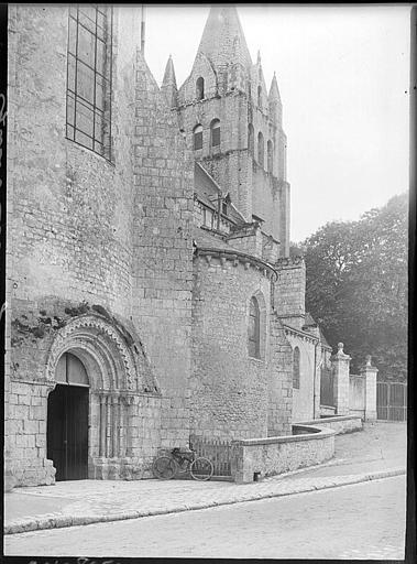 Portail nord et clocher