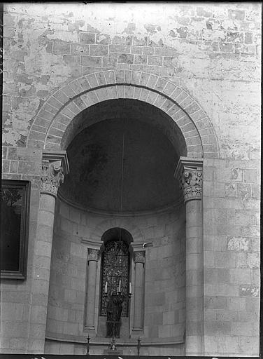 Chapelle absidiale : vitrail