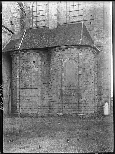 Transept nord : partie inférieure