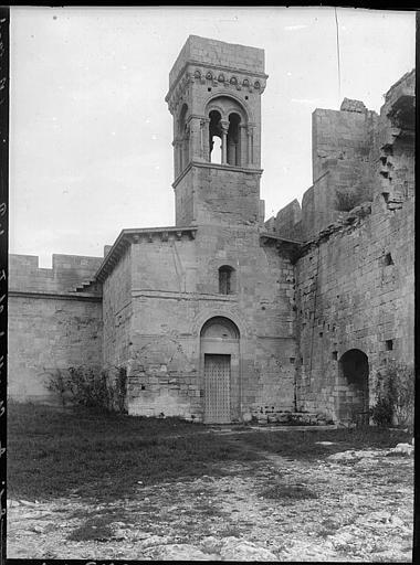 Chapelle Saint-Louis : façade