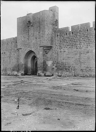 Porte de l'Organeau, côté sud