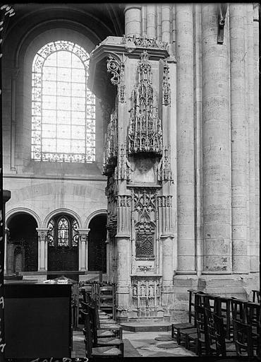 Intérieur : autel de Tristan de Salazar