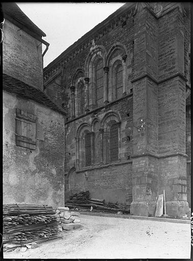 Transept vu en perspective