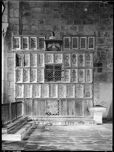 Armoire à reliques ou buffet de saint Geoffroy