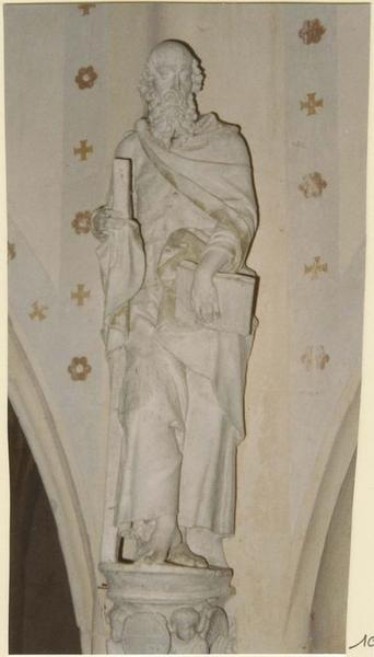 Statue: saint André, vue générale