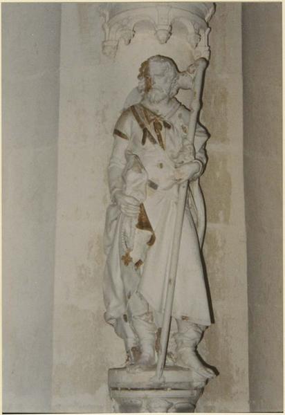 Statue: saint Jacques le majeur, vue générale