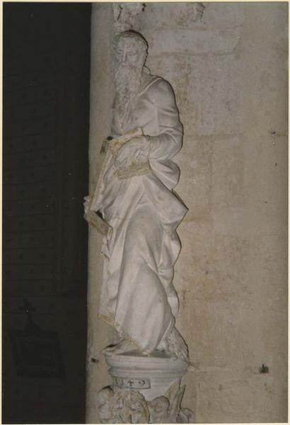 Statue: saint Thomas, vue générale