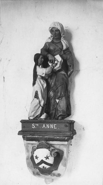 statue : Éducation de la Vierge