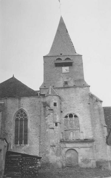façade occidentale, vue générale