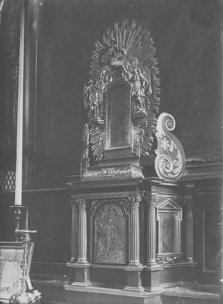 tabernacle du maître-autel, vue générale