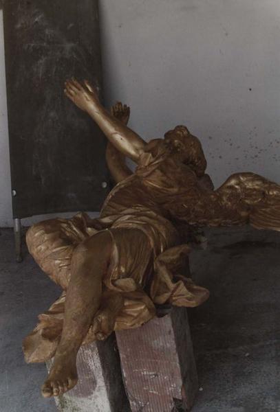 Groupe sculpté-reliquaire de sainte Maure