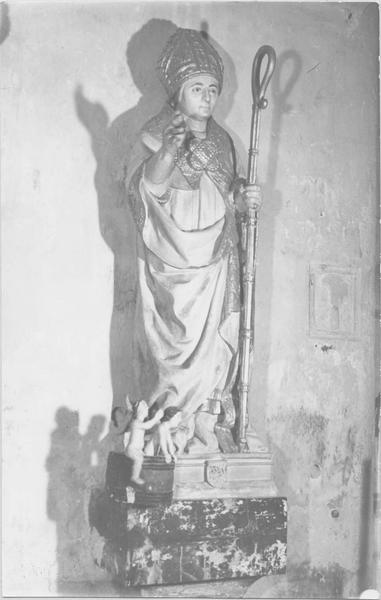 Statue : Saint Nicolas (disparue)
