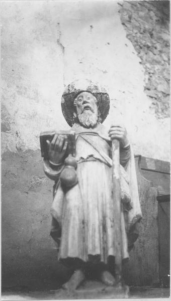 Statue : Saint Jacques le Majeur (disparue)