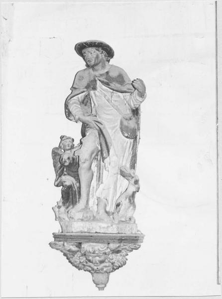 Statue : Saint Roch (disparue)