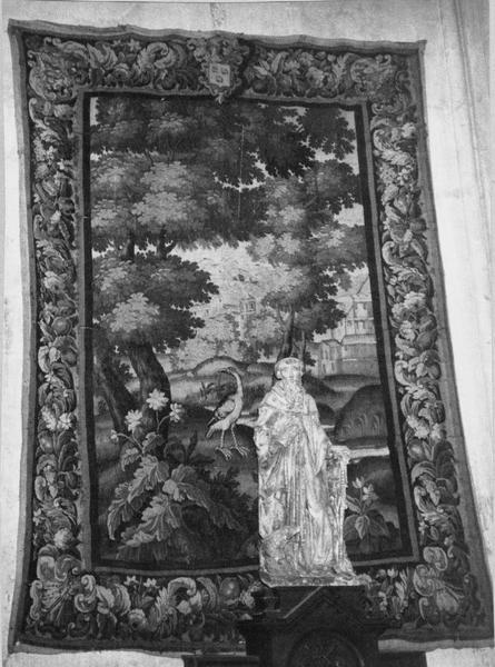 Pièce murale: verdure, vue générale