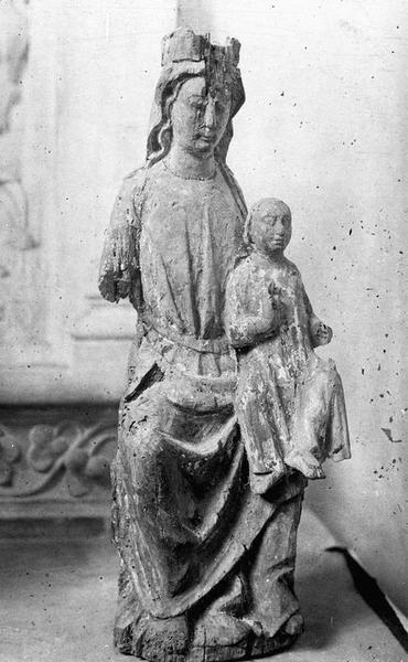 Statuette : Vierge à l'Enfant dite Notre-Dame des Vertus