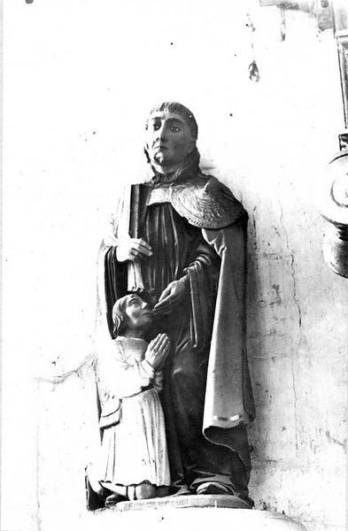 Statue : Saint Marcoul