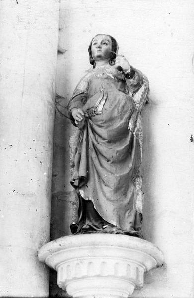 Statue : Sainte Savine