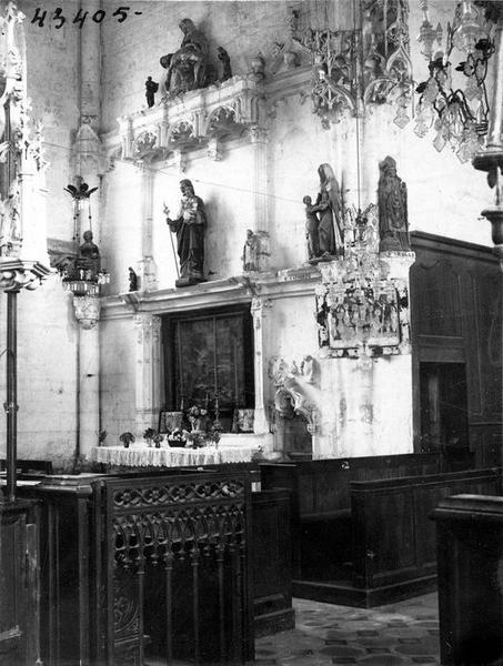 Retable de la chapelle Sainte-Anne
